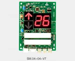 Serial LED Elevator Calling / Indicator Board